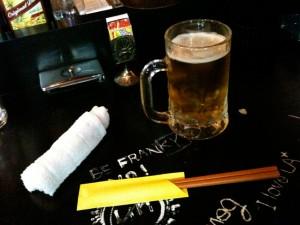 ダイニングバー箸袋