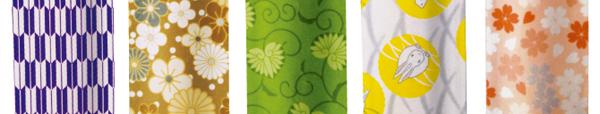 箸置きになる折紙箸袋-千代-柄見本